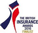 British Insurance Awards 2016 Finalist